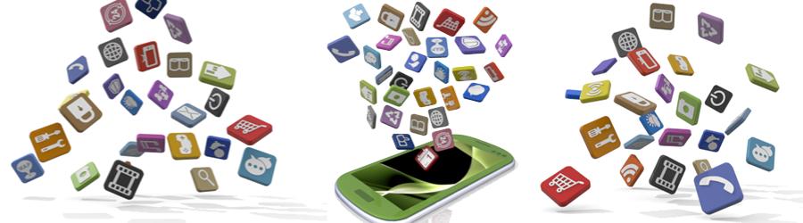 たくさんのアプリ